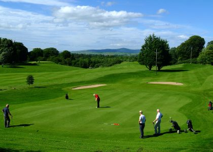 newtownstewart golf course