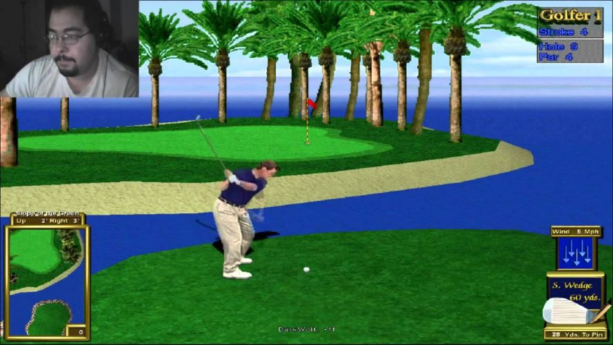 Peter Jacobson's Golden Tee Golf