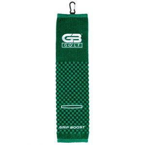 Grip Boost Tri-Fold Golf Towel