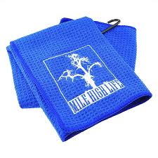 Mile High Life Golf Towel