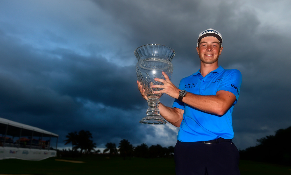 Hovland Wins His First Tour