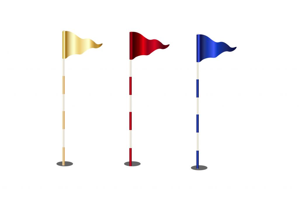 best golf flags